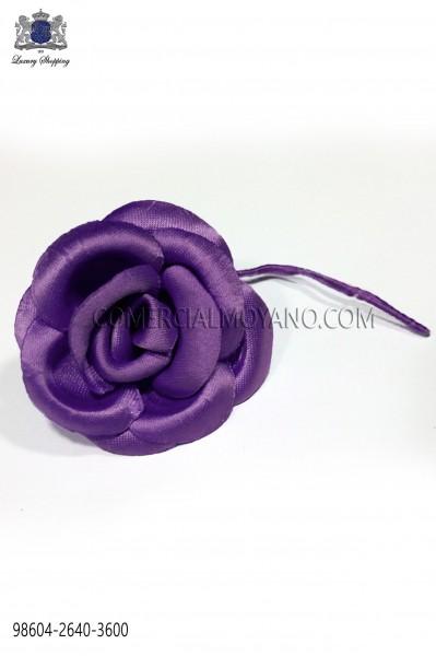 Flor raso violeta 98604-2640-3600 Ottavio Nuccio Gala.