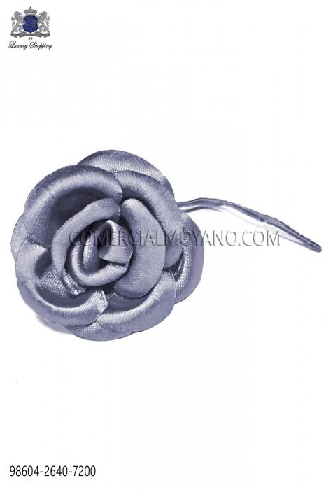 Silver satin flower 98604-2640-7200 Ottavio Nuccio Gala.