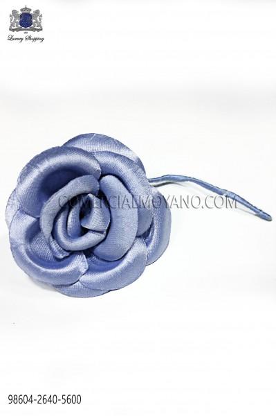 Flor raso azul cielo 98604-2640-5600 Ottavio Nuccio Gala.