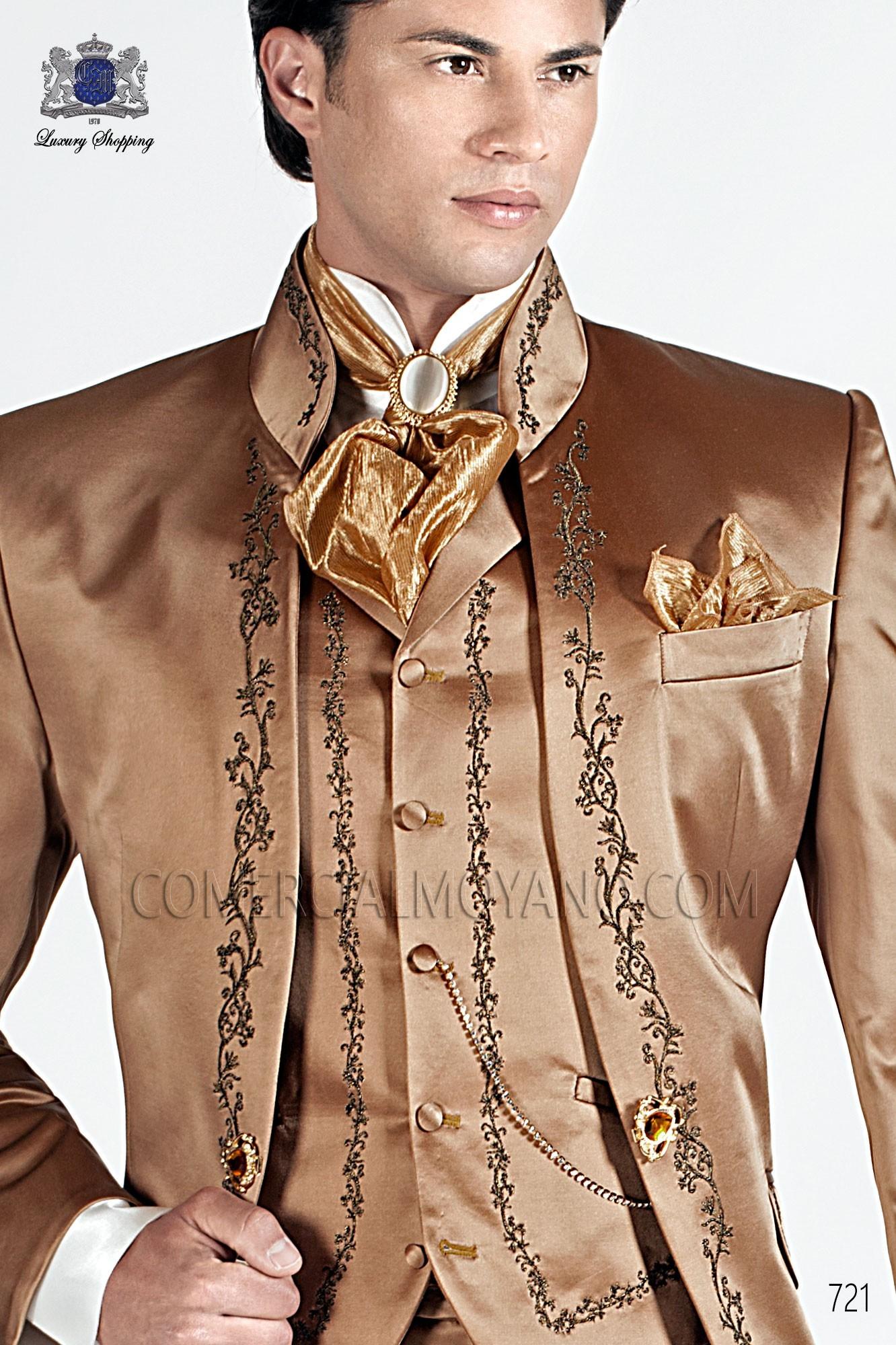 Traje barroco de novio oro viejo modelo: 721 Ottavio Nuccio Gala colección 2017 Barroco
