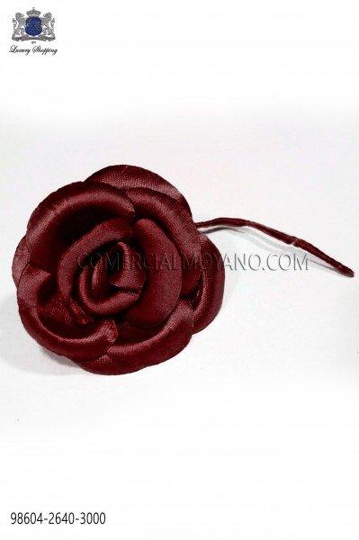 Flor raso granate oscuro 98604-2640-3000 Ottavio Nuccio Gala.