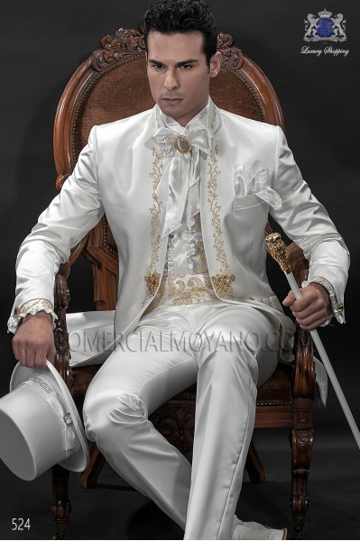 Traje de novio Barroco blanco 524 Ottavio Nuccio Gala