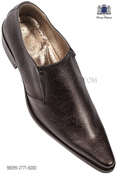 Baroque bronze shoes 98099-2771-6000 Ottavio Nuccio Gala.