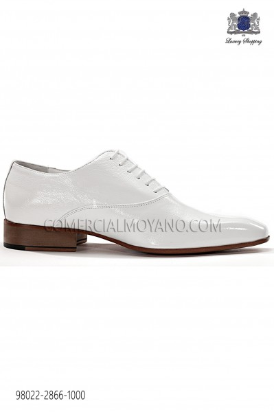 "Zapatos ""francesina"" blanco 98022-2866-1000 Ottavio Nuccio Gala."