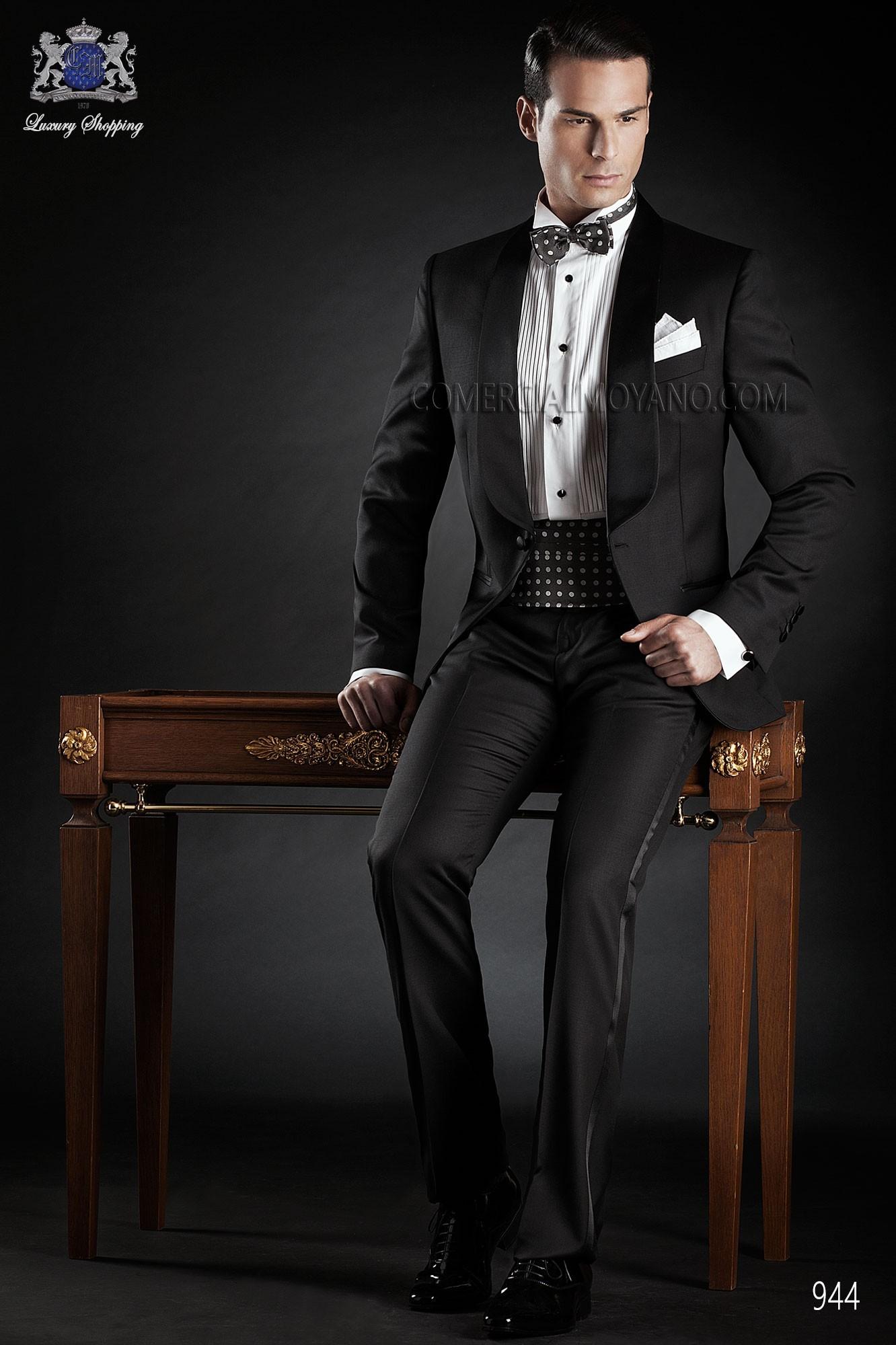 Traje de fiesta hombre negro modelo: 944 Ottavio Nuccio Gala colección Black Tie