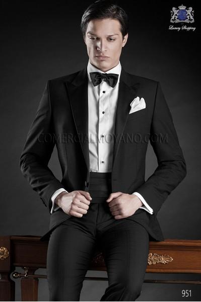 Traje de novio esmoquin negro 951 Ottavio Nuccio Gala