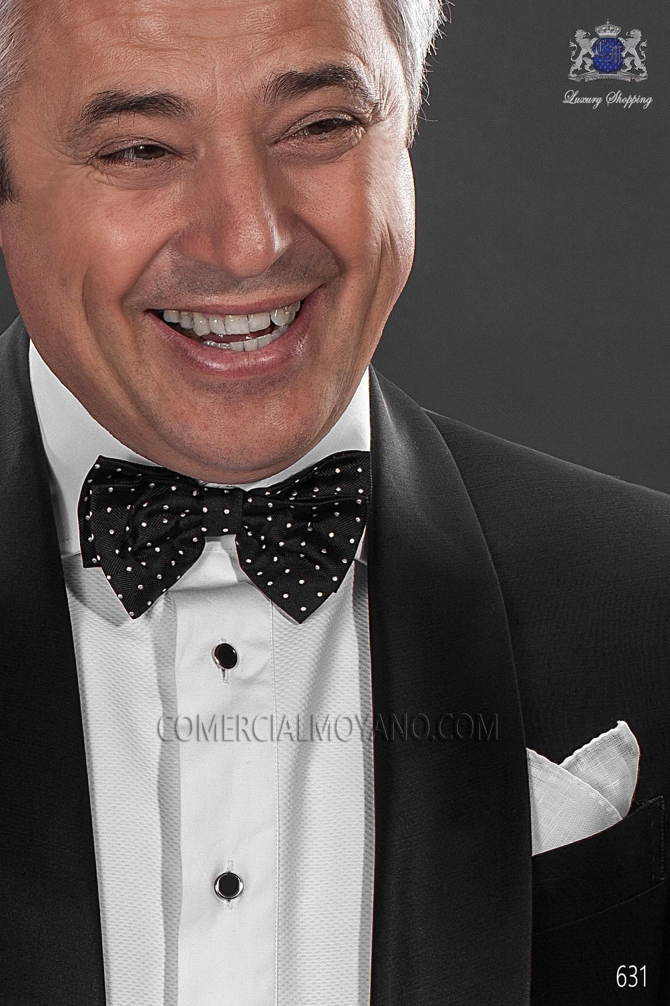 Italian blacktie black men wedding suit, model: 631 Ottavio Nuccio Gala Black Tie Collection