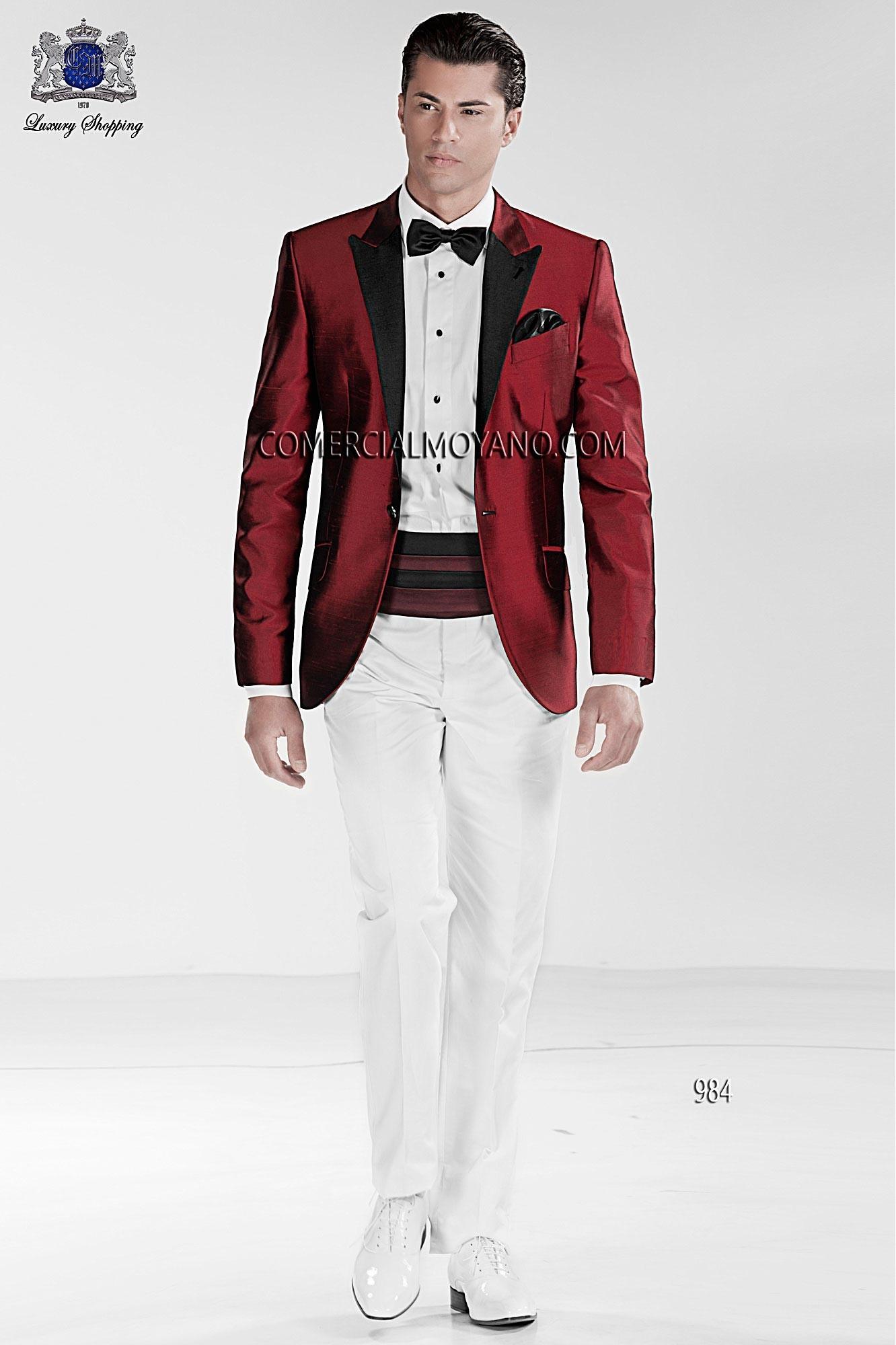 Traje de fiesta hombre rojo modelo: 984 Ottavio Nuccio Gala colección Black Tie