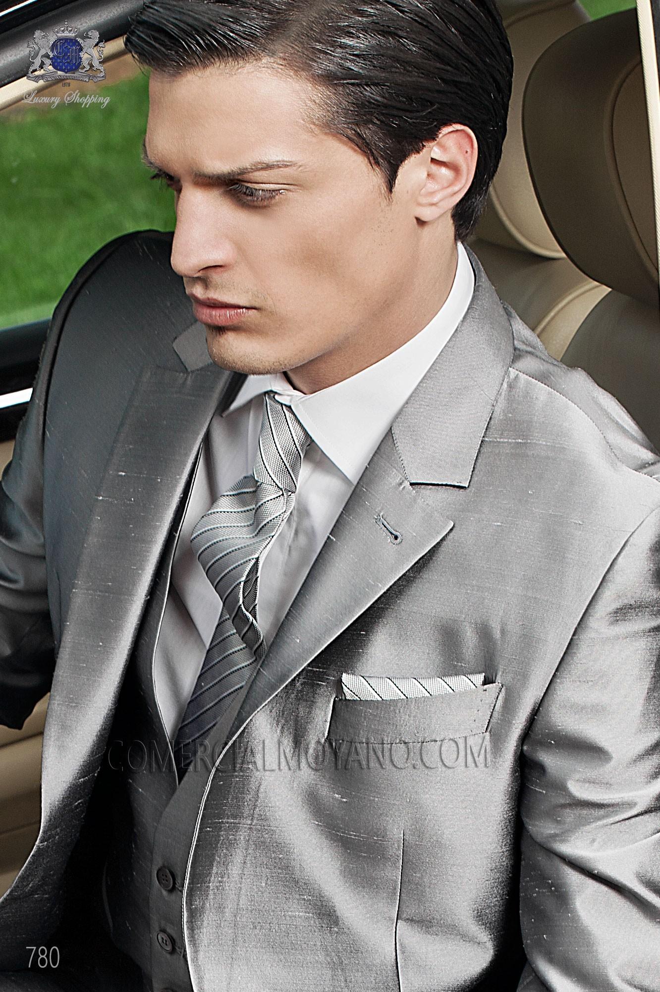 Traje Fashion de novio gris modelo: 780 Ottavio Nuccio Gala colección Fashion