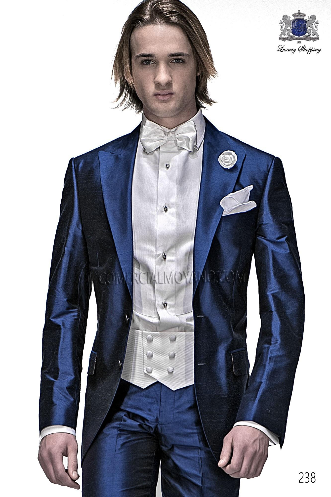 Traje Fashion de novio azul modelo: 238 Ottavio Nuccio Gala colección Fashion