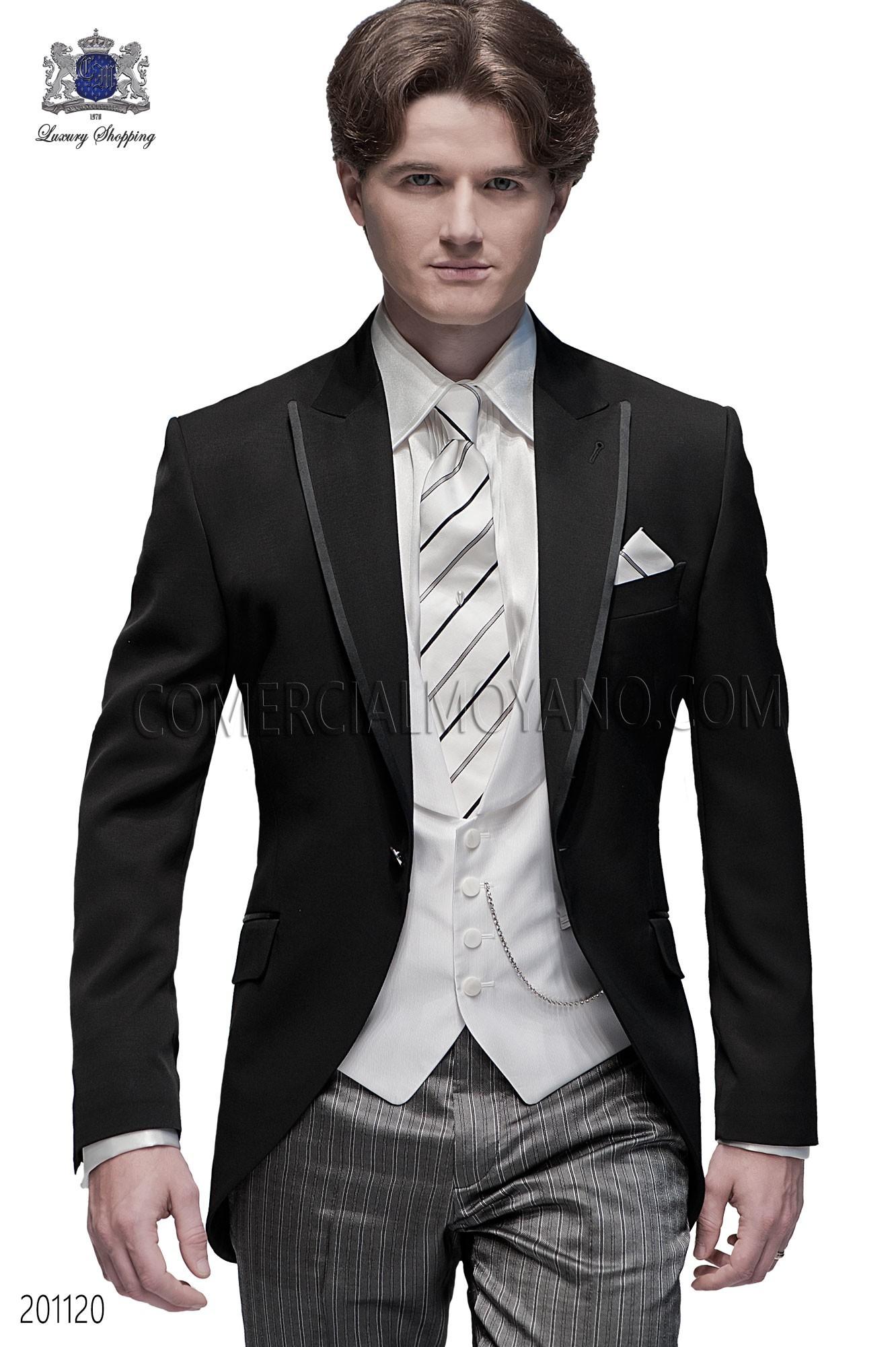 Traje de novio moderno negro modelo: 201120 Ottavio Nuccio Gala colección Fashion