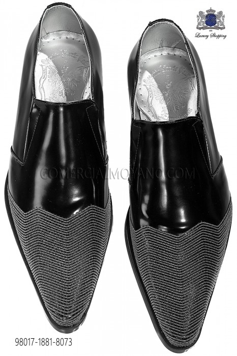 Black leather ankle boot men shoes 98017-1881-8073 Ottavio Nuccio Gala.