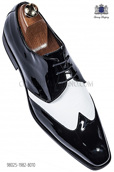 "Black/white ""Golf"" shoes 98025-1982-8010 Ottavio Nuccio Gala."