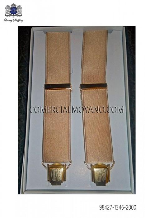 Gold suspenders 98427-1346-2000 Ottavio Nuccio Gala.