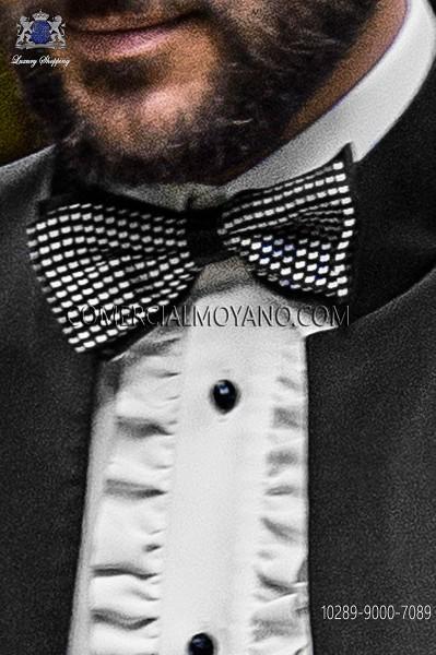 Gray bicolor bow tie 10289-9000-7089 Ottavio Nuccio Gala.