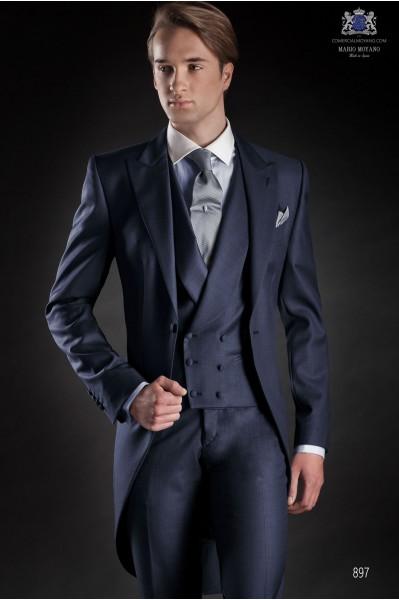 Traje de novio italiano azul, modelo 897 colección Gentleman Ottavio Nuccio Gala.