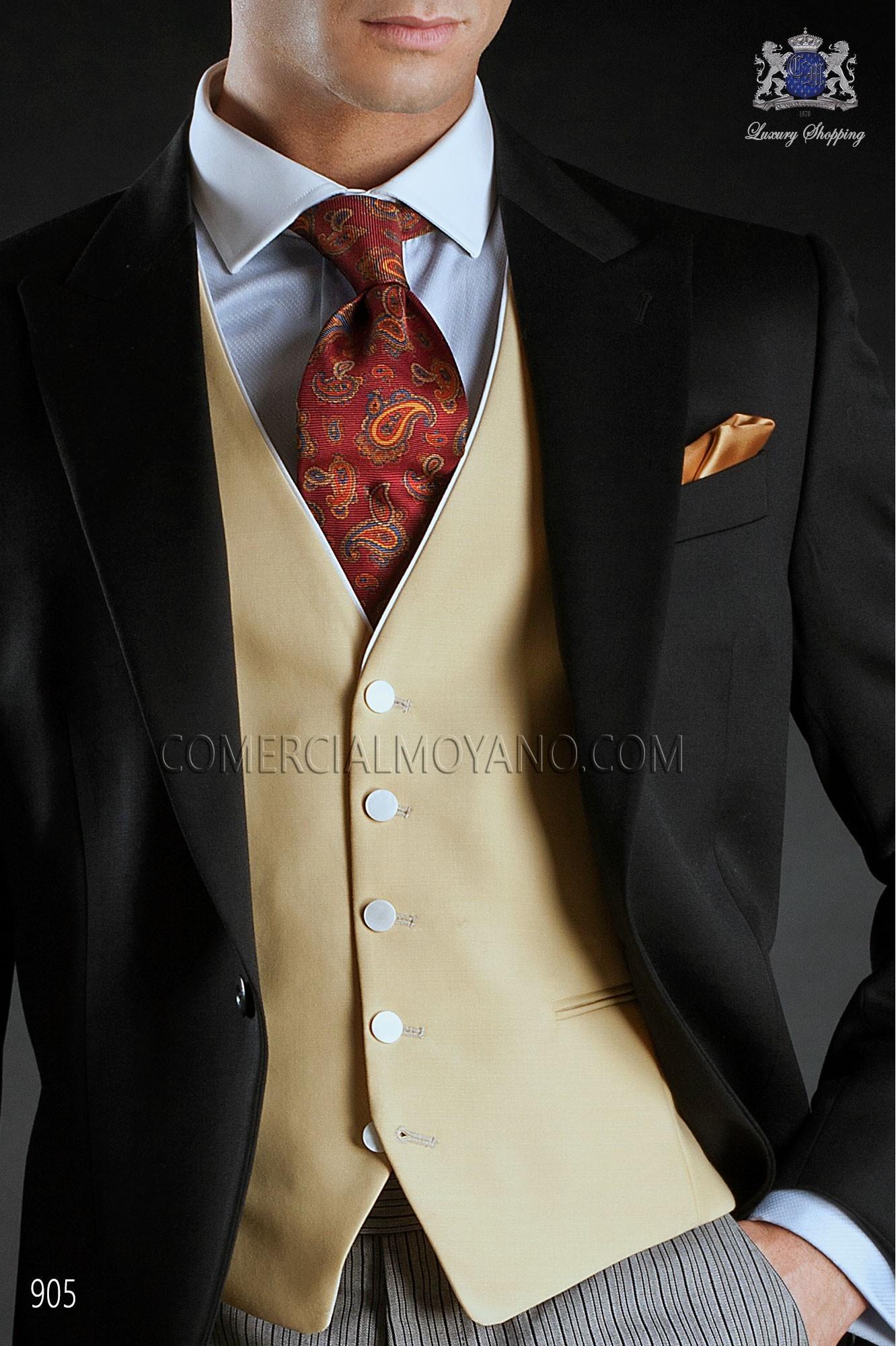 Traje Gentleman de novio negro modelo: 905 Ottavio Nuccio Gala colección Gentleman