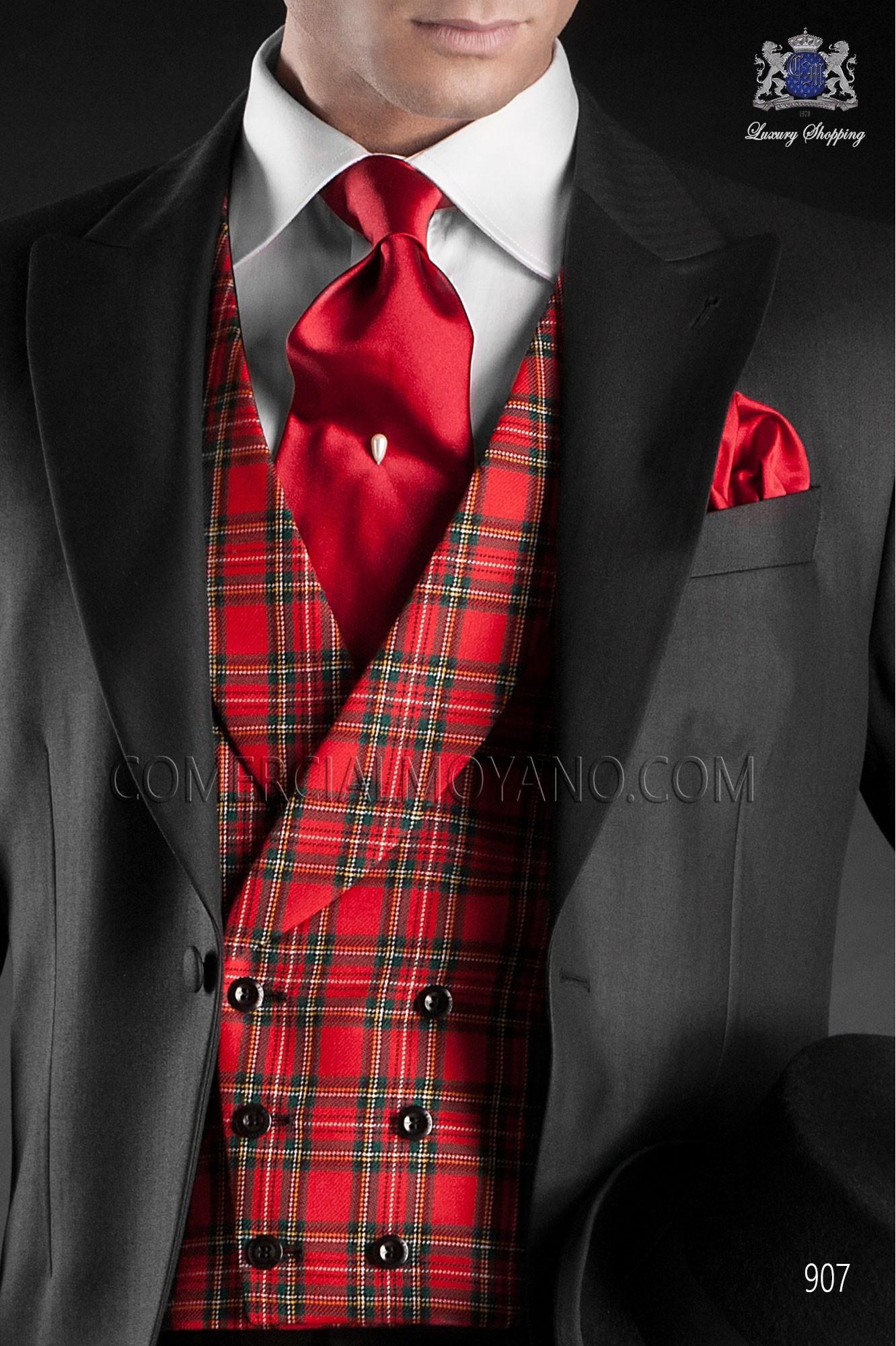 Gentleman black men wedding suit, model: 907 Ottavio Nuccio Gala ...