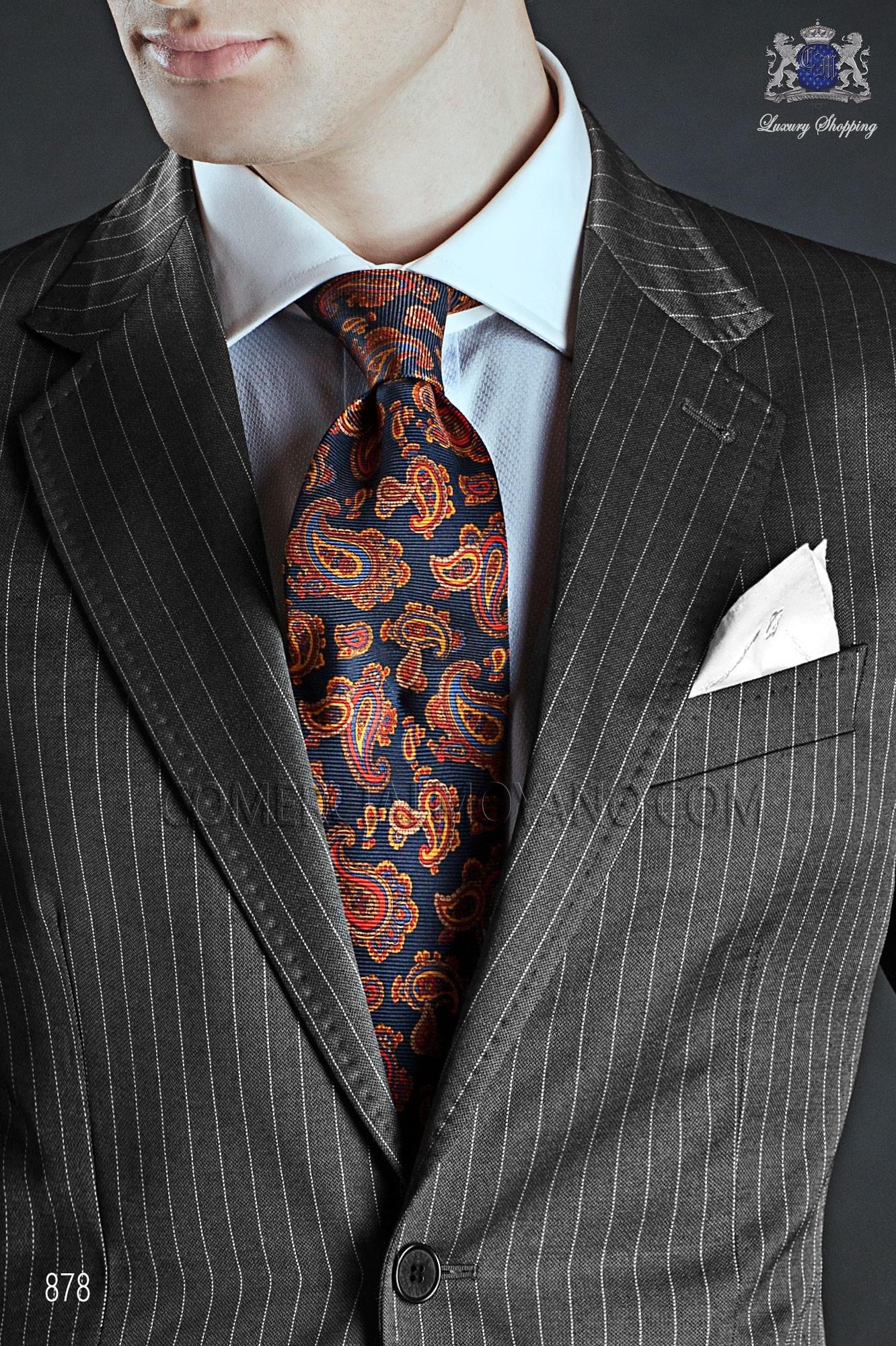 Italian gentleman gray men wedding suit, model: 878 Ottavio Nuccio Gala 2017 Gentleman Collection