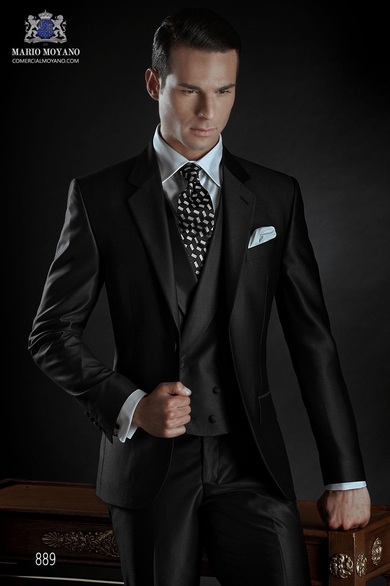 Traje de novio italiano gris modelo: 889 Ottavio Nuccio Gala colección Gentleman
