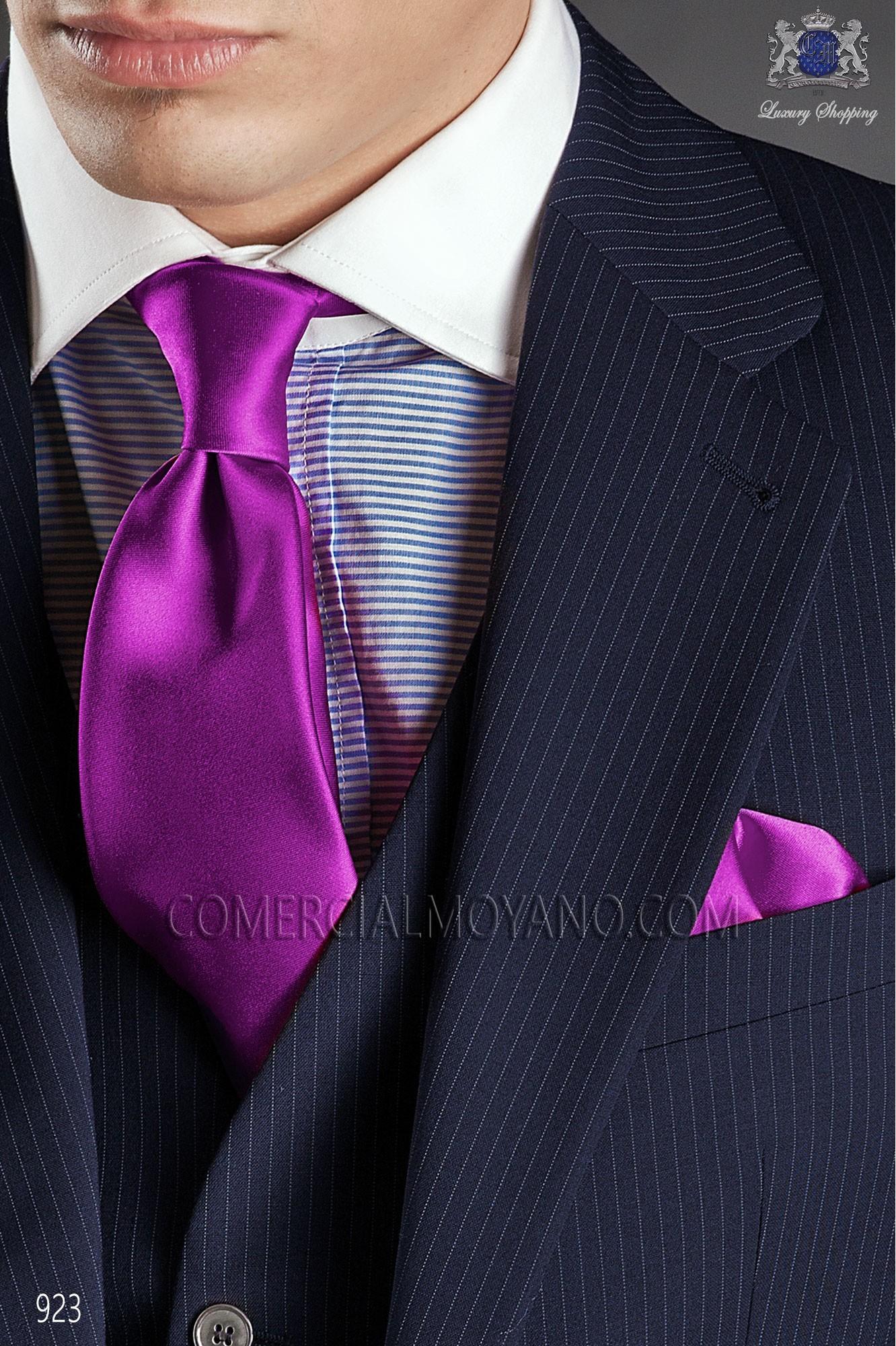 Traje Gentleman de novio azul modelo: 923 Ottavio Nuccio Gala colección Gentleman