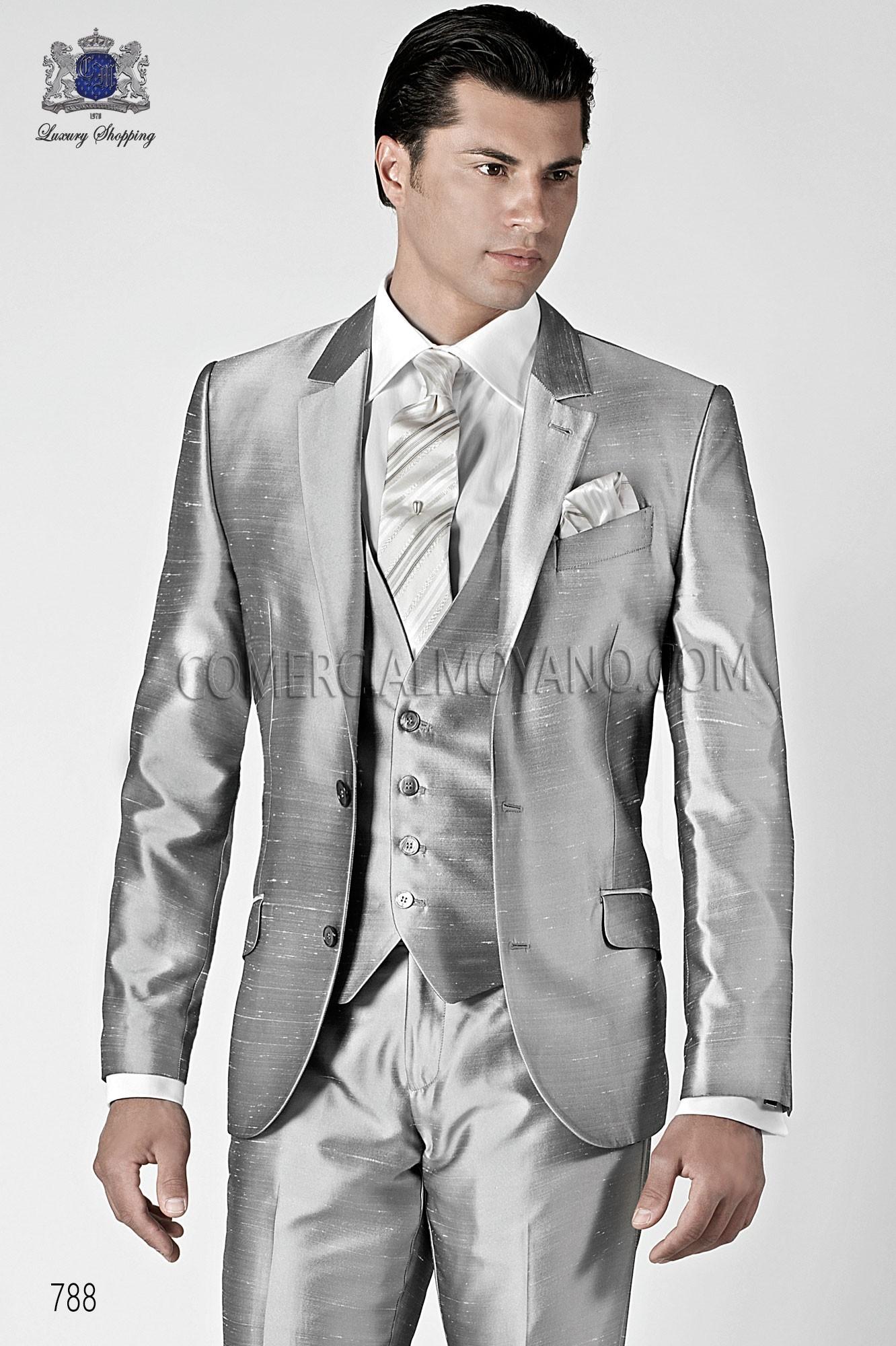 Traje de novio Hipster gris modelo: 788 Ottavio Nuccio Gala colección Hipster