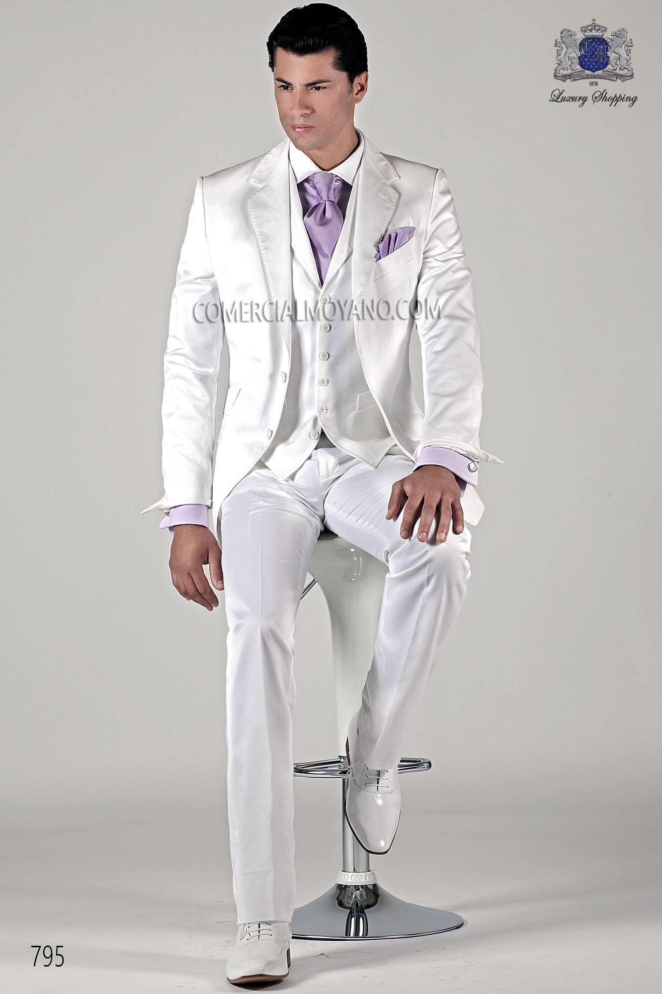 Hipster white men wedding suit model 795 Ottavio Nuccio Gala
