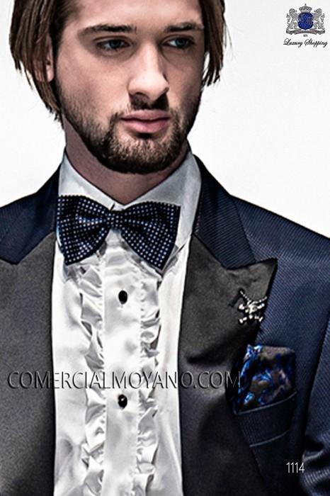 Black silk handkerchief 15018-9000-5088 Ottavio Nuccio Gala.