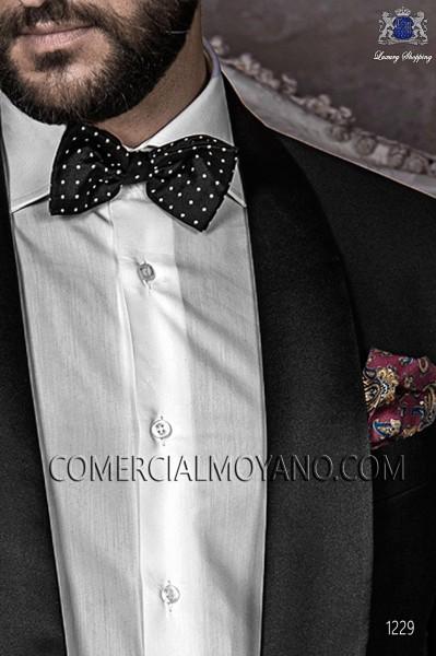 Burgundy handkerchief 15018-9000-3397 Ottavio Nuccio Gala.