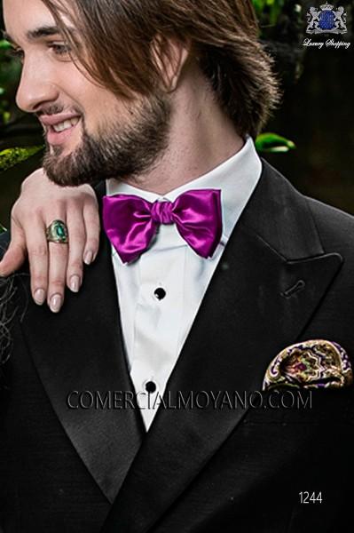 Purple paisley silk handkerchief 15019-2879-3300 Ottavio Nuccio Gala.