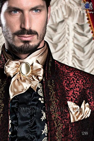 Foulard con pañuelo raso oro 56534-1328-2200 Ottavio Nuccio Gala.