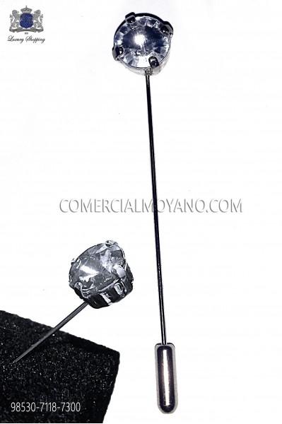 Alfiler con strass cristal 98530-7118-7300 Ottavio Nuccio Gala.