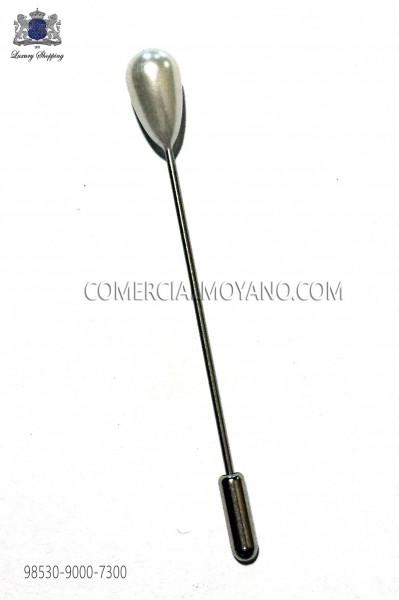 Pearl pin 98530-9000-7300 Ottavio Nuccio Gala.