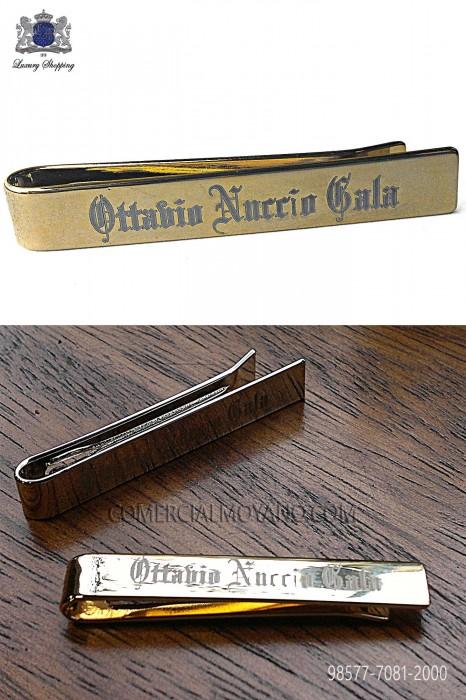 ONGala golden tie clip 98577-7081-2000 Ottavio Nuccio Gala.