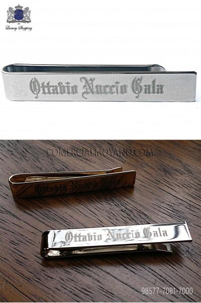 ONGala silver tie clip 98577-7081-7000 Ottavio Nuccio Gala.