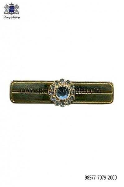 Baroque golden tie clip 98577-7079-2000 Ottavio Nuccio Gala.