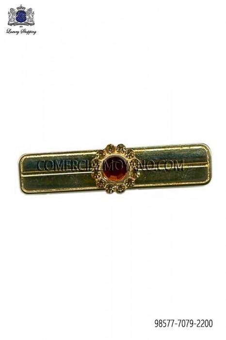 Baroque bronze tie clip 98577-7079-2200 Ottavio Nuccio Gala.