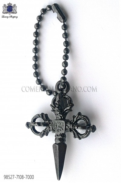 Dark silver gothic sword 98527-7108-7000 Ottavio Nuccio Gala.