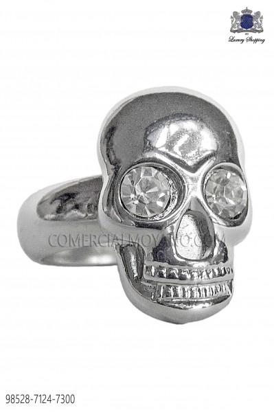Silver skull ring 98528-7124-7300 Ottavio Nuccio Gala