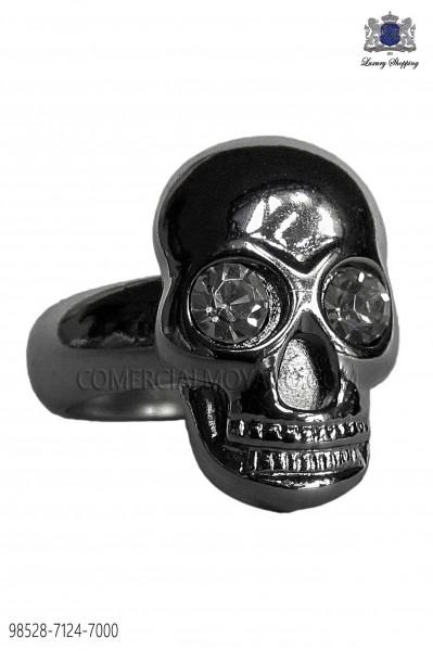 Dark silver skull ring Ottavio Nuccio Gala Model 98528-7124-7000 OTTAVIO NUCCIO GALA