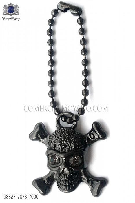 Dark silver skull pendant 98527-7073-7000 Ottavio Nuccio Gala.