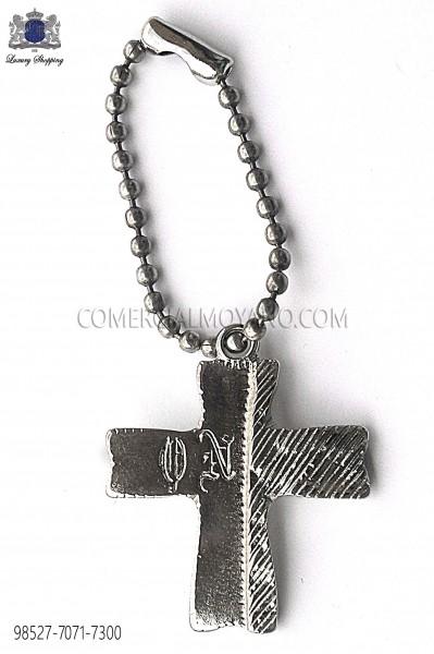Colgante cruz plata 98527-7071-7300 Ottavio Nuccio Gala.