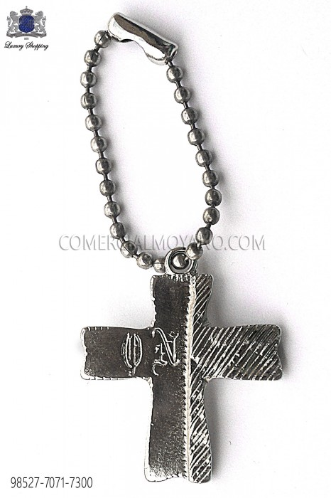 Silver cross pendant 98527-7071-7300 Ottavio Nuccio Gala.