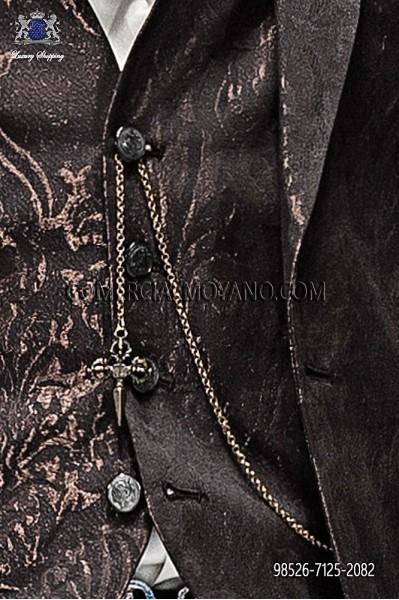 Golden chain with gothic sword 98526-7125-2082 Ottavio Nuccio Gala