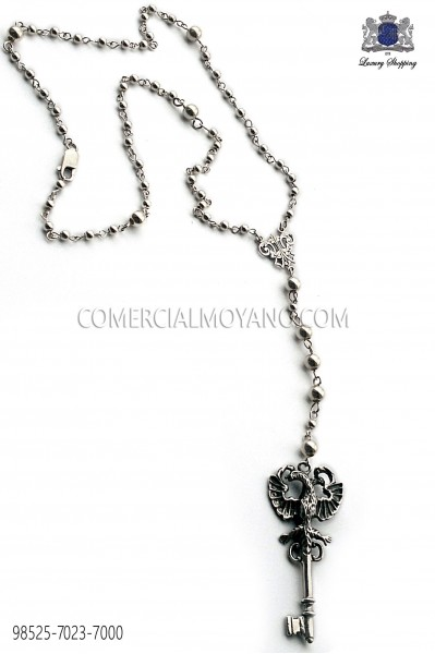 Baroque key necklace 98525-7023-7000 Ottavio Nuccio Gala.