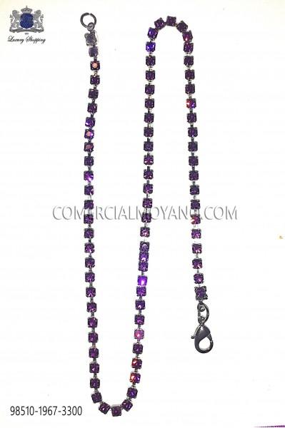Amethyst crystal chain 98510-1967-3300 Ottavio Nuccio Gala.