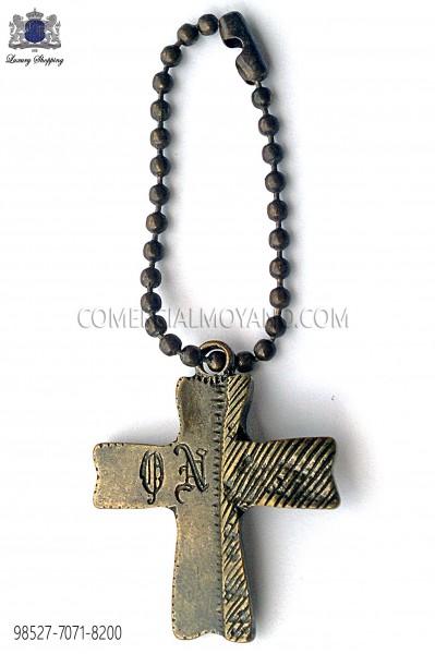 Colgante cruz oro viejo 98527-7071-8200 Ottavio Nuccio Gala