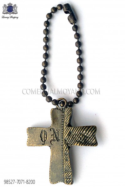 Old gold cross pendant 98527-7071-8200 Ottavio Nuccio Gala.