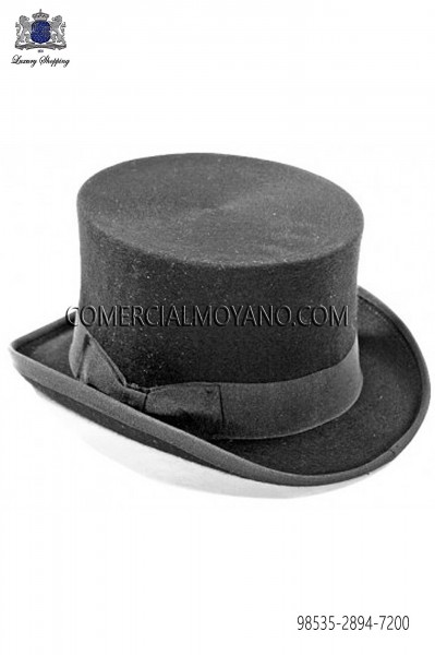 Sombrero de copa gris 98535-2894-7200 Ottavio Nuccio Gala.