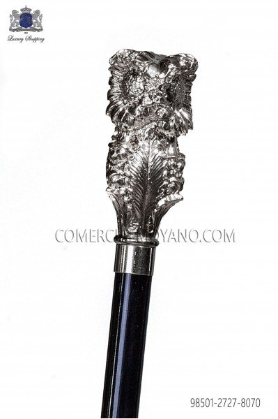 Cane with silver handle 98501-2727-8070 Ottavio Nuccio Gala.